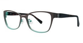Ann Taylor AT201 Matte Brown/Teal Fade