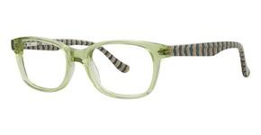 Kensie stripes Lime
