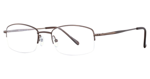 Continental Optical Imports Fregossi 604 Matte Brown