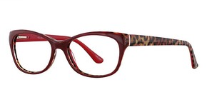 Valerie Spencer 9290 Red/Leopard