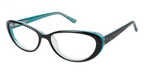 Lulu Guinness L880 Black/Turquoise
