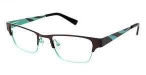 A&A Optical On Fire Brown/Green