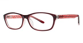 Modern Plastics II Motion Burgundy/Red