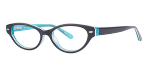 Modern Optical Joyful Navy/Light Blue
