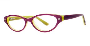Modern Optical Joyful Purple/Lime