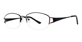 Modern Optical Glenda Matte Black/Burgundy