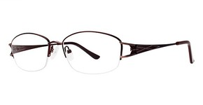Modern Optical Glenda matte brown/light brown