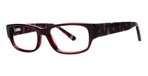Modern Optical Vivacious Burgundy