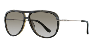 Salvatore Ferragamo SF687S (218) Horn/Wood