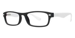 Modern Plastics II Launch Matte Black/White