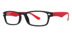 Modern Plastics II Launch Matte Black/Red