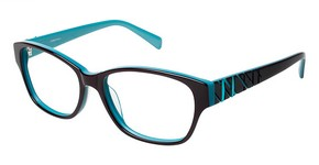L'Amy Zoe Chestnut/Teal