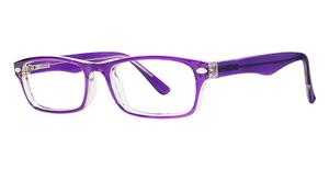 Modern Plastics II Care Purple/Crystal