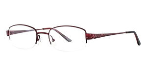 Continental Optical Imports Fregossi 606 Burgundy