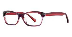 Continental Optical Imports Fregossi 412 Burgundy