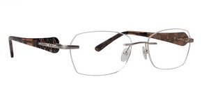 Totally Rimless TR 203 Brushed Gold