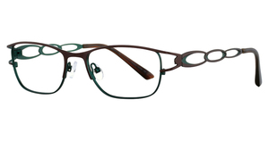 Vivian Morgan 8043 Brown/Turquoise