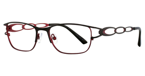 Vivian Morgan 8043 Black/Red