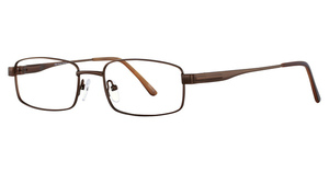 Continental Optical Imports Fregossi 612 Matte Brown