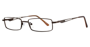 Continental Optical Imports Fregossi 613 Matte Brown