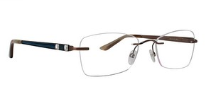 Totally Rimless TR 197 Soft Brown