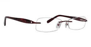 Totally Rimless TR 168 Deep Burgundy
