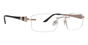 Totally Rimless TR 196 Brushed Gold