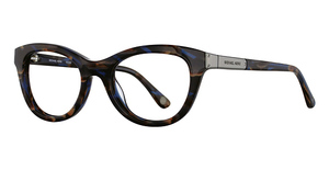 Michael Kors MK866 Blue Brown Tortoise