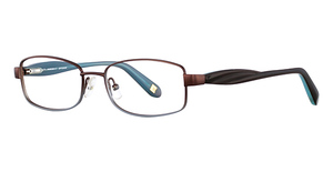 Marchon M-MADISON (216) Brown Blue Fade
