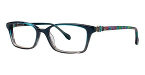 Lilly Pulitzer Fulton Teal Fade