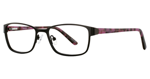 Continental Optical Imports Fregossi 618 BLACK/RASPBERRY