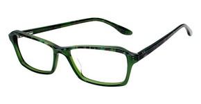 BCBG Max Azria Skylar Green Multi