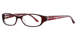 Vivian Morgan 8001 Cranberry Crystal