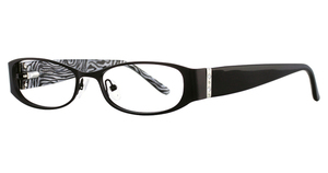 Vivian Morgan 8008 Black Zebra