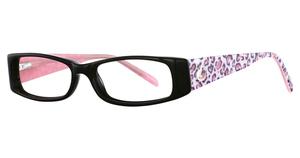 K-12 4068 Black/Pink Leopard