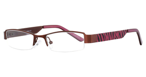 K-12 4064 Brown/Pink Zebra