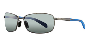 Maui Jim Long Beach 240 Pewter with Blue Temples