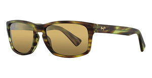 Maui Jim McGregor Point 291 Matte Olive Tortoise