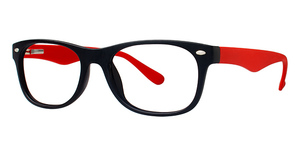 Modern Plastics II Equal Black/Red