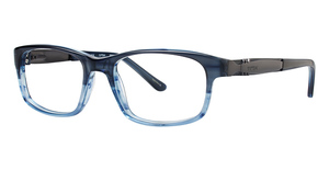TMX Crossed Eyeglasses