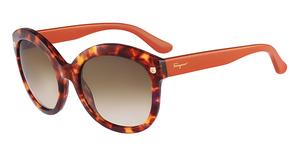 Salvatore Ferragamo SF677S Sunglasses