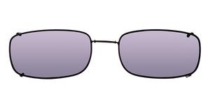 Hilco Glide-Fit Narrow Rectangle Sunglasses