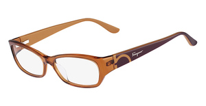 Salvatore Ferragamo SF2642 (223) Crystal Rust Brown