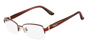 Salvatore Ferragamo SF2113R (210) Shiny Brown