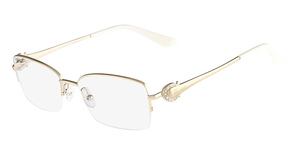Salvatore Ferragamo SF2132R (717) Shiny Gold