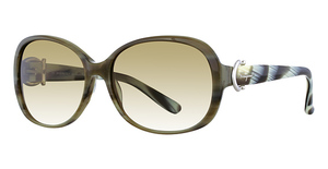 Salvatore Ferragamo SF613S (337) Green Horn