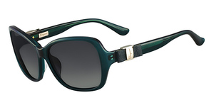 Salvatore Ferragamo SF657SL (321) Petrol Green