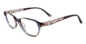 Cafe Lunettes CB1017 Marble Brown/Blue