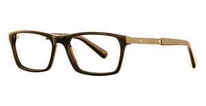 Kenneth Cole New York KC0220 Brown horn/ gunmetal with brown epoxy
