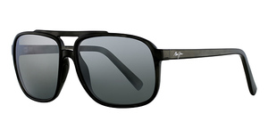 Maui Jim Silversword 701 Black and Grey Tortoise